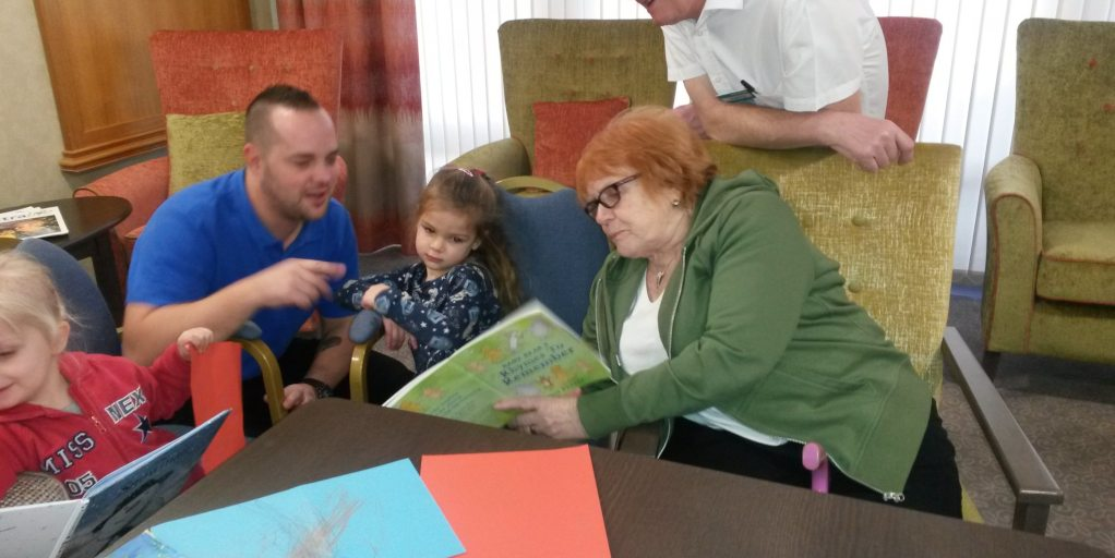 Benefits of Nursery children visiting residential care homes