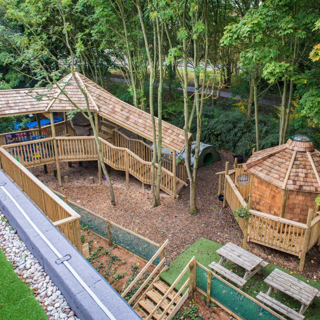 Childcare Hub garden