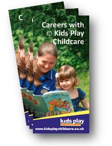 kids play recruitment leaflet